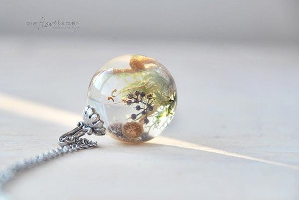レジン フラワーボール,レジン テラリウム