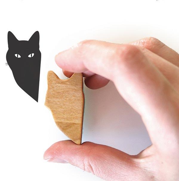 ハンドメイド 消しゴムはんこ,消しゴムはんこ 猫