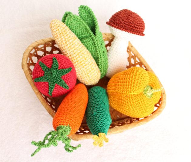 かぎ針編み 野菜,かぎ針編み,ハンドメイド