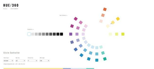 The Color Scheme Application